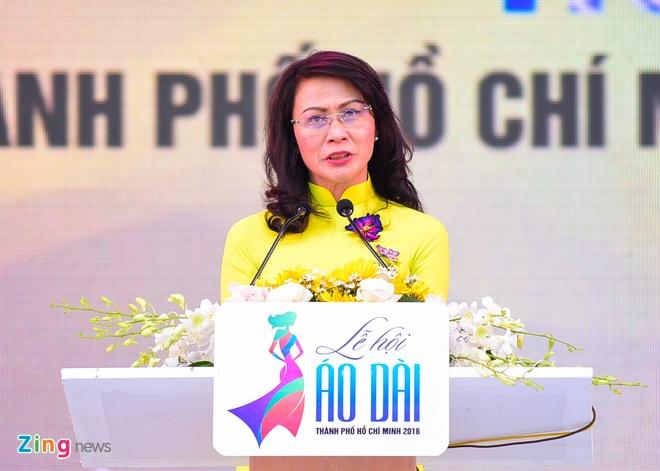 Khai mac Le hoi Ao dai: Ton vinh gia tri truyen thong Viet hinh anh 2