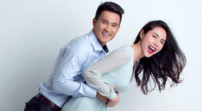 Cong Vinh dong phim de co nu cuoi cua Thuy Tien hinh anh