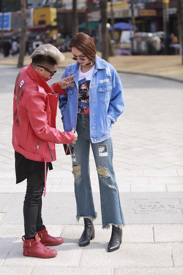 Minh Hang tai Seoul Fashion Week anh 1