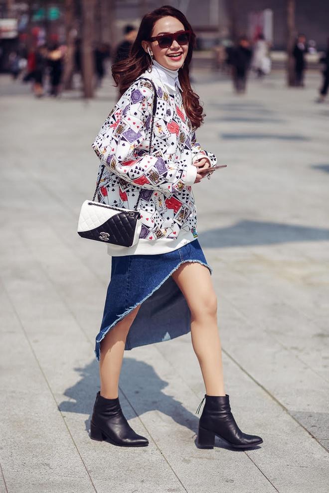 Minh Hang tai Seoul Fashion Week anh 4