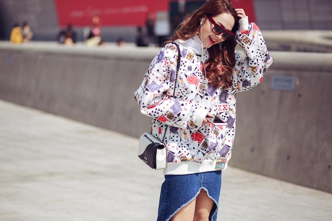 Minh Hang tai Seoul Fashion Week anh 5