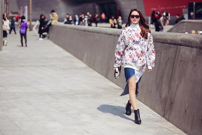 Minh Hang tai Seoul Fashion Week anh 6