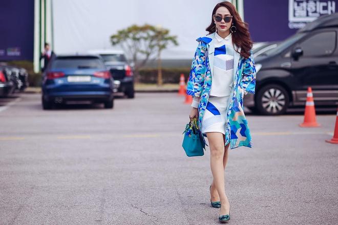 Minh Hang tai Seoul Fashion Week anh 7