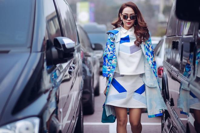 Minh Hang tai Seoul Fashion Week anh 8