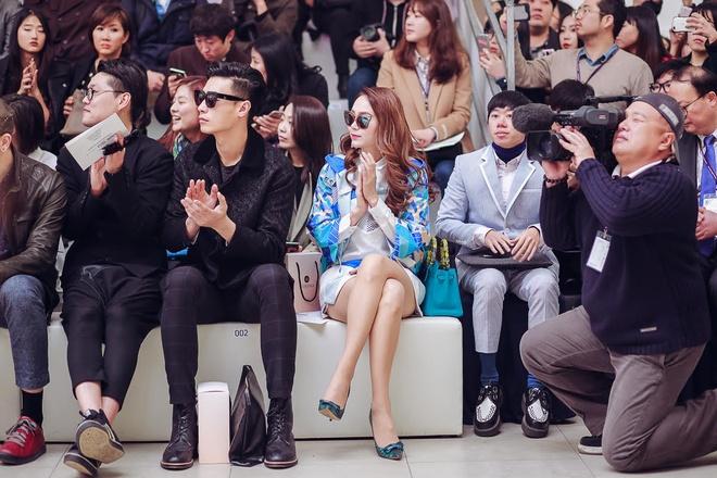 Minh Hang tai Seoul Fashion Week anh 9