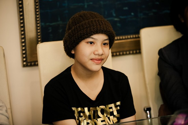 Huyen Tran The Voice Kids muon cat-se cao anh 1