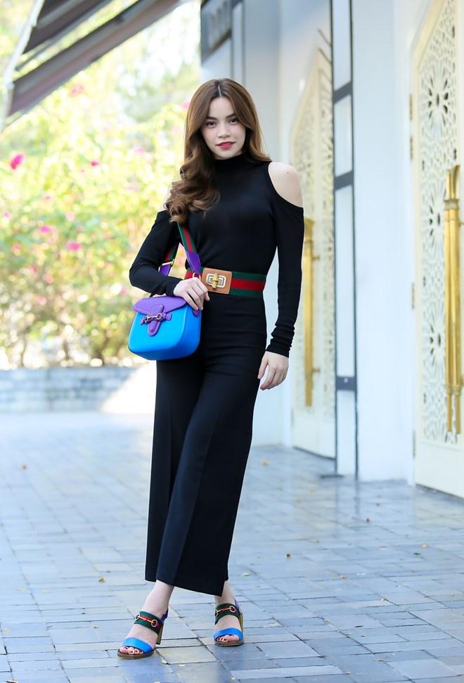 Minh Hang, Ha Ho dien street style dep nhat tuan hinh anh 2