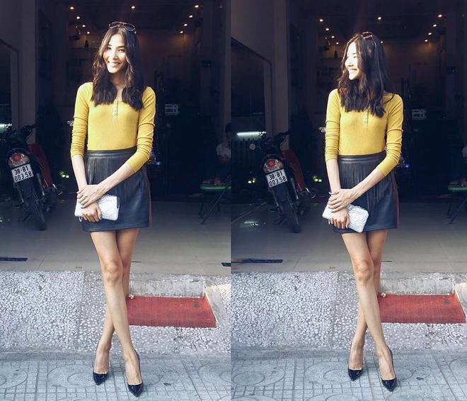 Minh Hang, Ha Ho dien street style dep nhat tuan hinh anh 7