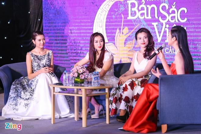 Thuy Van, Diem Trang rang ro o su kien hinh anh 8