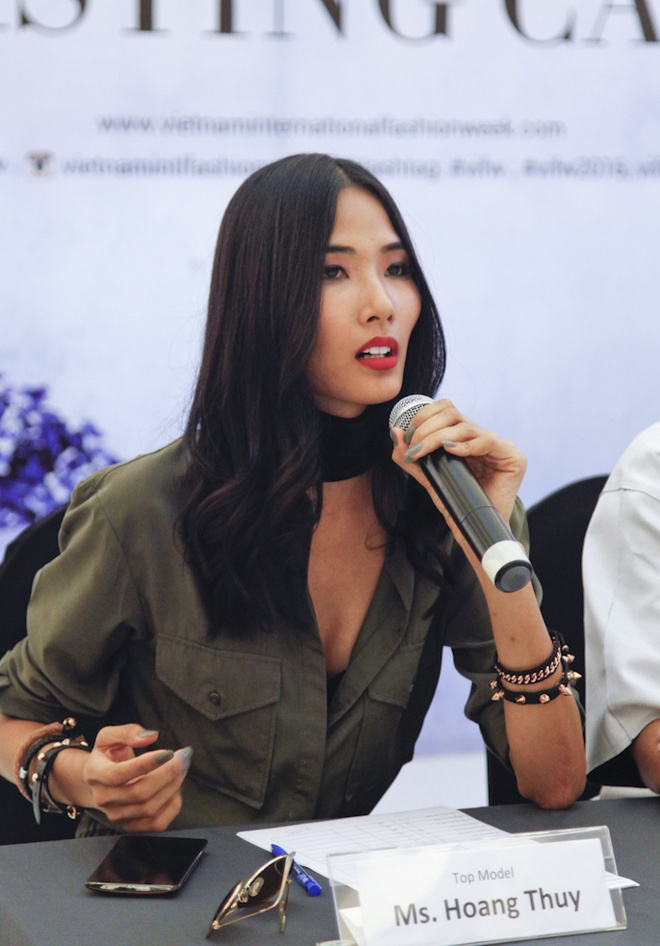 Hoang Thuy sexy di casting anh 5