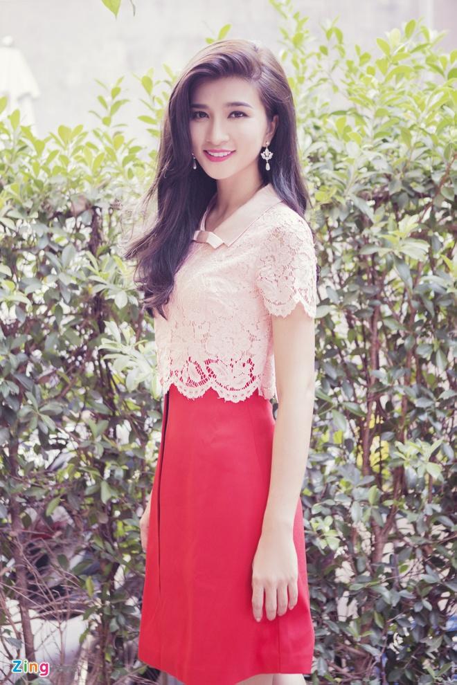 Kim Tuyen dien dam ren pastel ngot ngao hinh anh 1