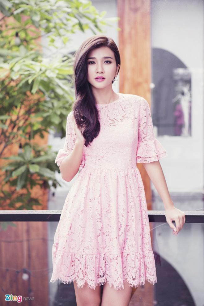 Kim Tuyen dien dam ren pastel ngot ngao hinh anh 3