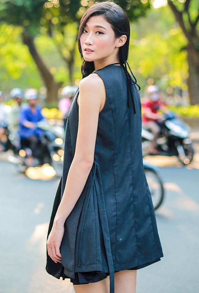 Street style cuoi tuan cua sao Viet hinh anh 9