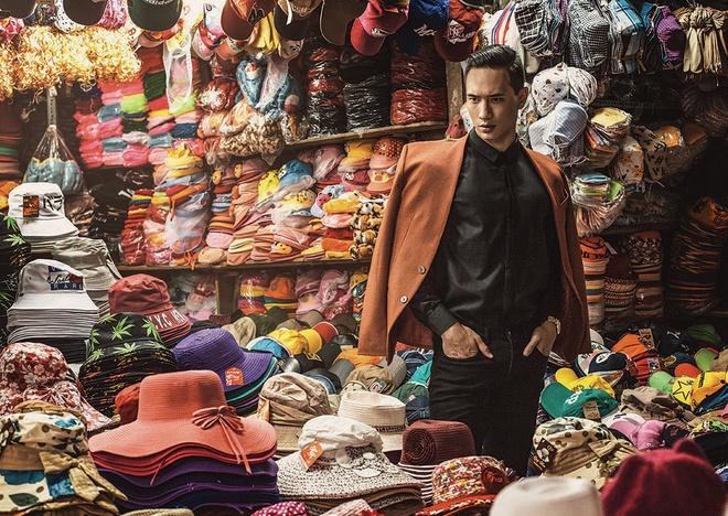Kim Ly len bia tap chi Myanmar hinh anh 4