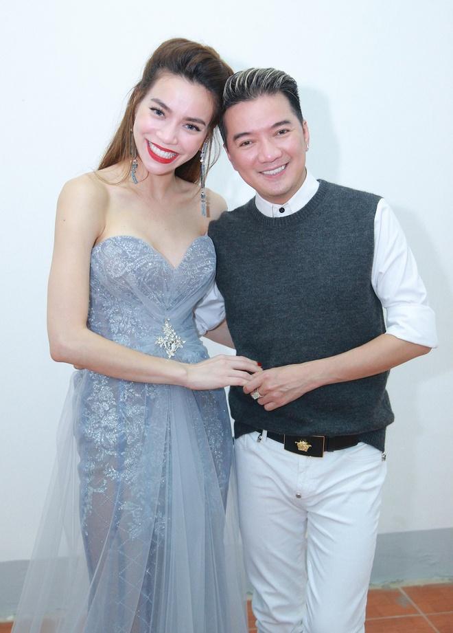Ho Ngoc Ha den Vinh ung ho live show Mr Dam hinh anh 1