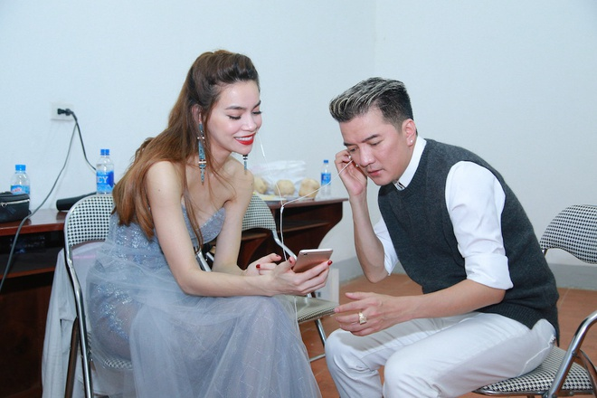 Ho Ngoc Ha den Vinh ung ho live show Mr Dam hinh anh 2