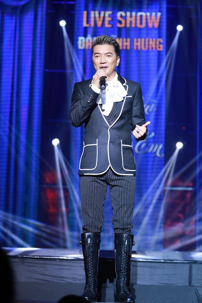 Ho Ngoc Ha den Vinh ung ho live show Mr Dam hinh anh 5