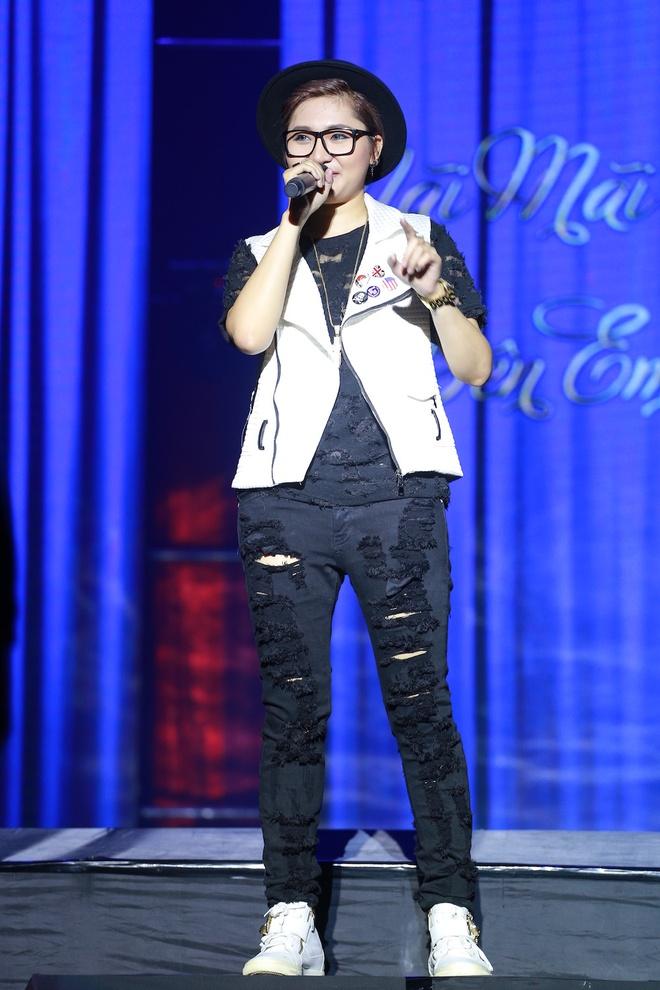 Ho Ngoc Ha den Vinh ung ho live show Mr Dam hinh anh 8