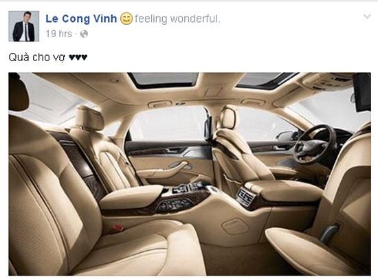 Cong Vinh tang Thuy Tien xe hop dat tien hinh anh 1