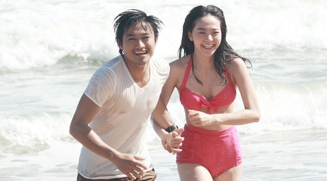Minh Hang noi ve nghi van phim gia tinh that voi Quy Binh hinh anh
