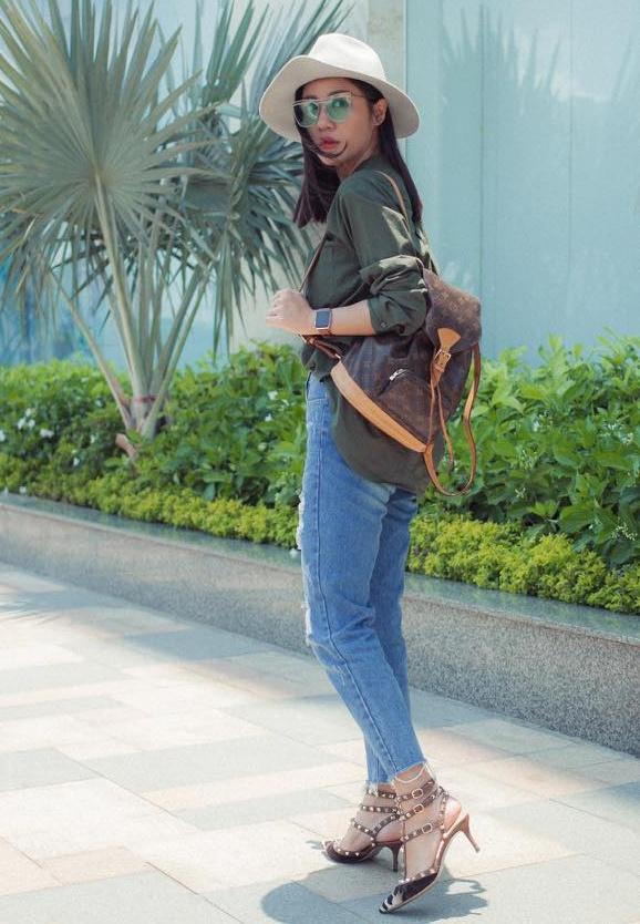 Street style cua sao Viet anh 5