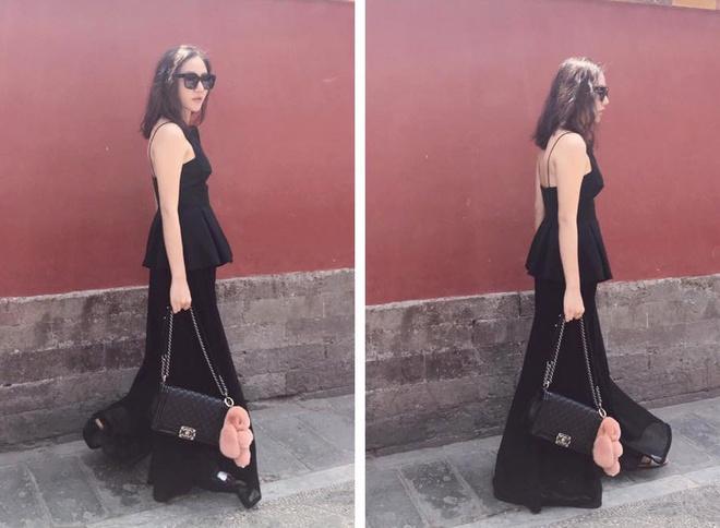 Street style chong nong sanh dieu cua sao Viet hinh anh 6