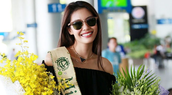 Hoa hau Trai dat 2015 den Viet Nam hinh anh