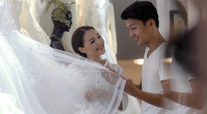 Quang Tuan dua ba xa di thu trang phuc cuoi hinh anh