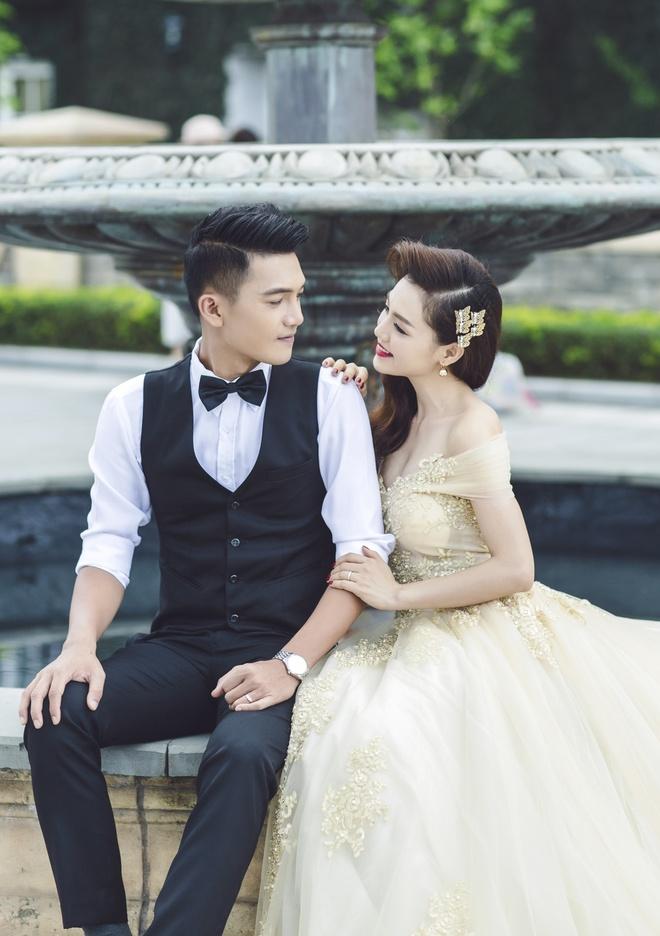 Quang Tuan - Linh Phi hon nhau trong anh cuoi o Ba Na hinh anh 3