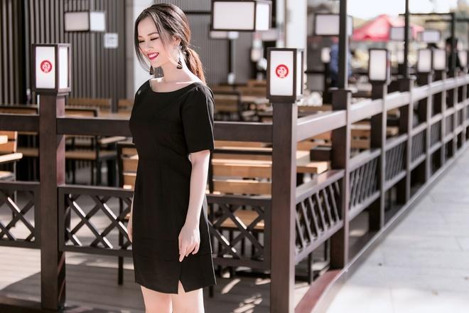 Vo Ha Tram goi y trang phuc trang den cho nang 'nam lun' hinh anh 6