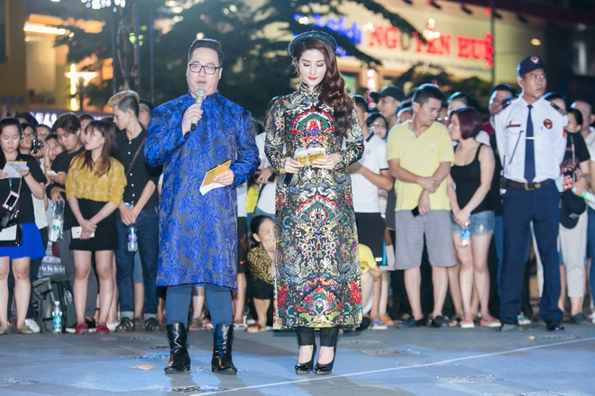 Luong The Thanh cham soc ba xa Thuy Diem trong show dien hinh anh 13