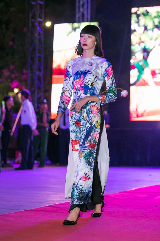 Luong The Thanh cham soc ba xa Thuy Diem trong show dien hinh anh 9