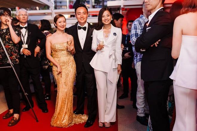Sao 'Hoa vang co xanh' duoc ban trai thap tung den Cannes hinh anh 6