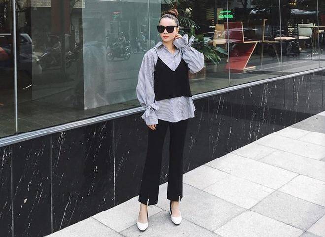 Minh Hang, Pham Huong dien street style noi bat tuan qua hinh anh 13