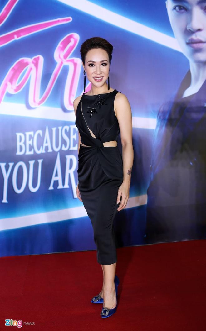 Angela Phuong Trinh dien vay luoi ho bao o su kien hinh anh 7