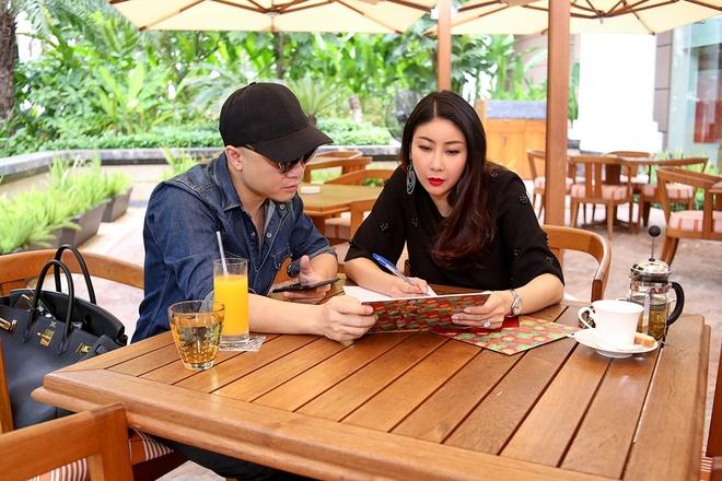 Ha Kieu Anh lam MC show Do Manh Cuong hinh anh 1