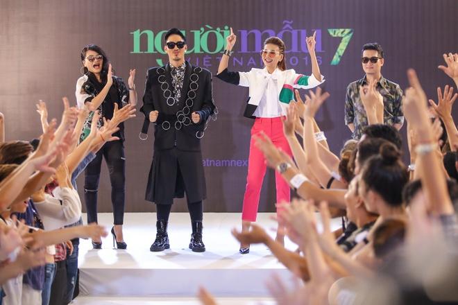 Thanh Hang, Ly Qui Khanh sanh dieu di casting Next Top hinh anh 4
