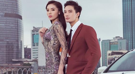 Hoa hau Ky Duyen tinh tu ben ban dien dien trai hinh anh