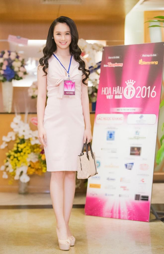 Ve dep cua thi sinh vong so khao Hoa hau Viet Nam 2016 hinh anh 5