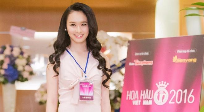 Ve dep cua thi sinh vong so khao Hoa hau Viet Nam 2016 hinh anh