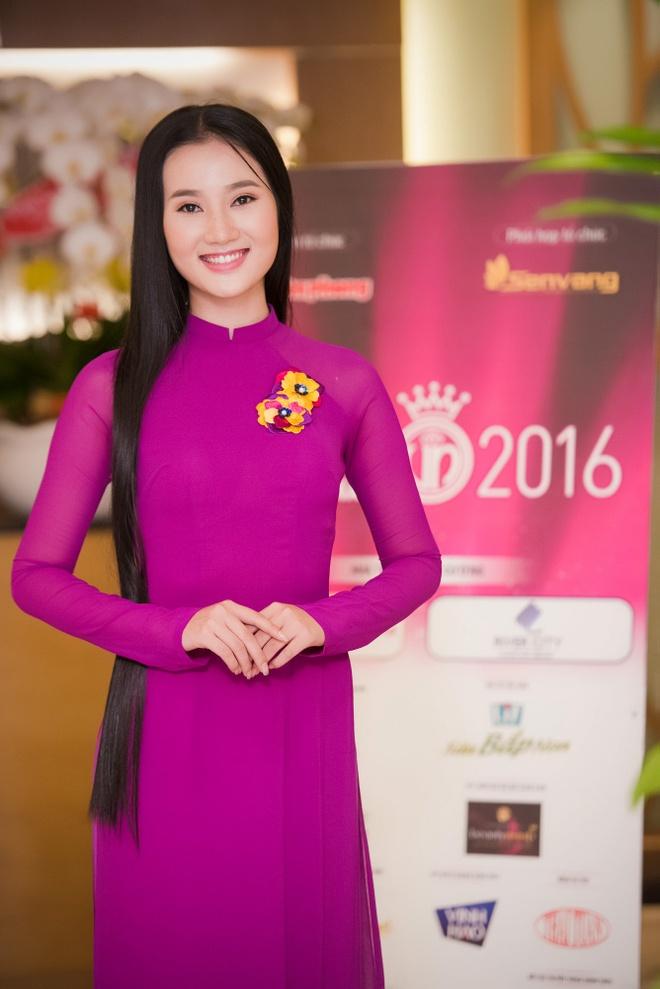 Ve dep cua thi sinh vong so khao Hoa hau Viet Nam 2016 hinh anh 6