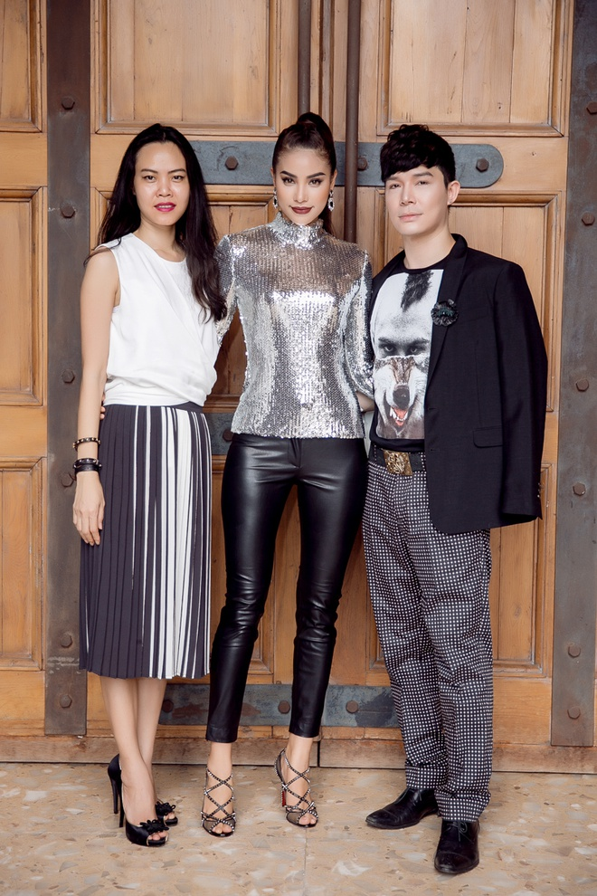 Pham Huong va dan sao Viet sanh dieu di cham thi The Face hinh anh 3