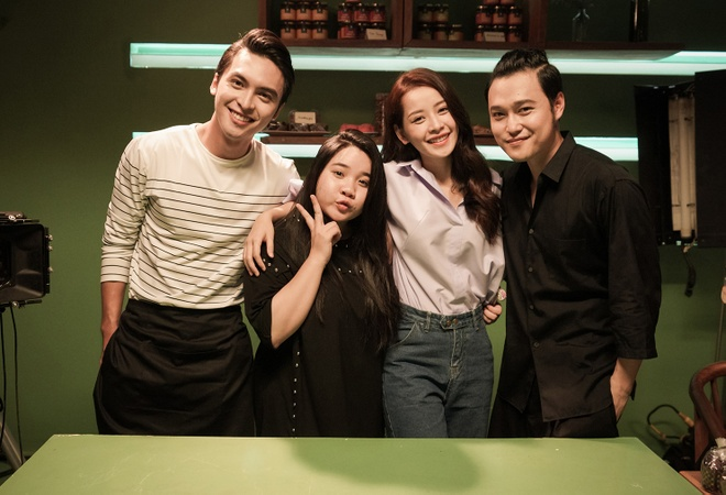 Quang Vinh dong phim do Chi Pu san xuat hinh anh 2
