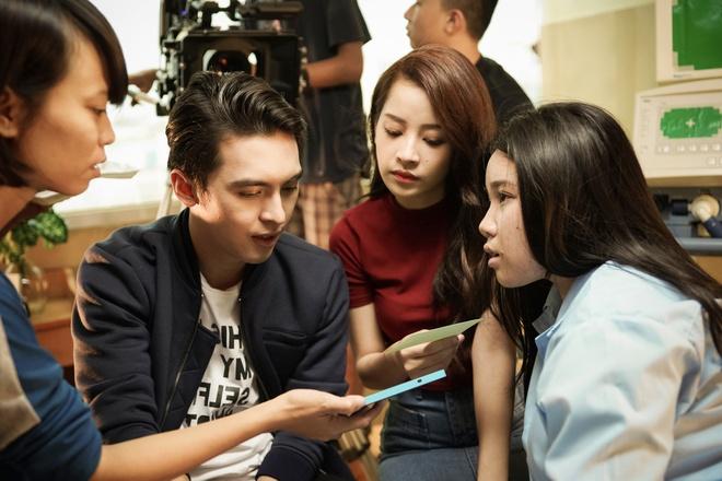 Quang Vinh dong phim do Chi Pu san xuat hinh anh 5