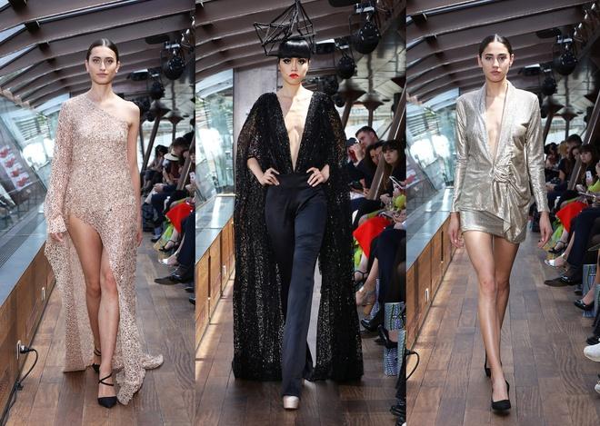 Jessica Minh Anh dien thoi trang tren du thuyen o song Seine hinh anh 4