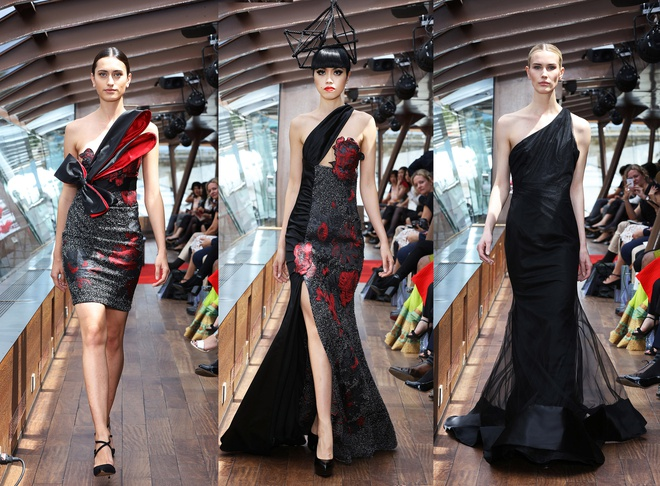 Jessica Minh Anh dien thoi trang tren du thuyen o song Seine hinh anh 7