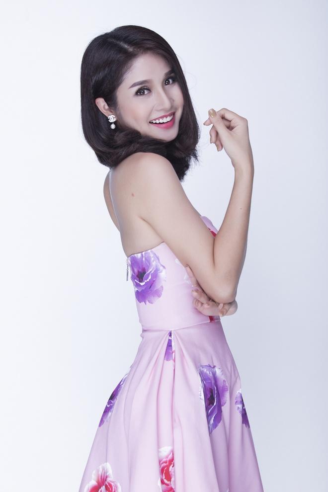 Thao Trang dien dam cup nguc quyen ru hinh anh 2