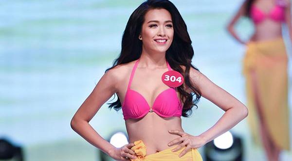 A hau Le Hang thi Hoa hau Hoan vu The gioi 2016 hinh anh