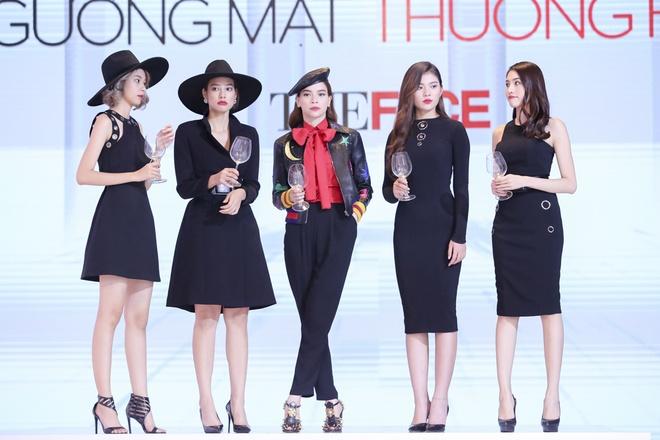 Ha Ho mac dep vuot Lan Khue, Pham Huong o The Face hinh anh 11