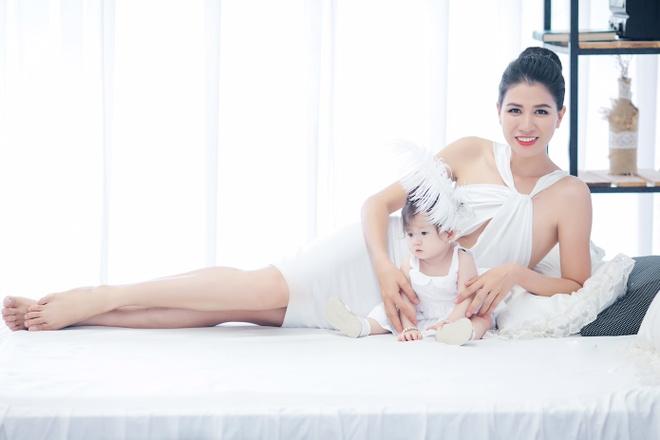 Trang Tran khoe con gai 7 thang tuoi hinh anh 1